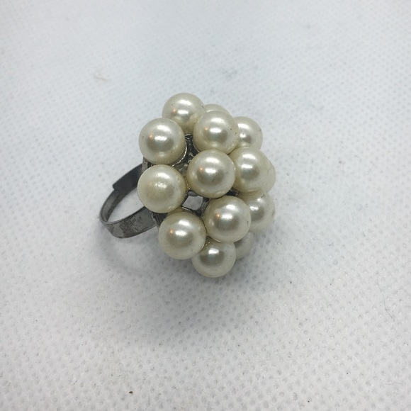 Jewelry - 4 for $12: Faux Pearl Beaded Ring